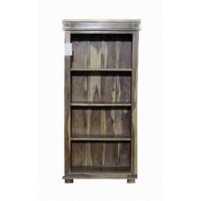 Louis Solid Sheesham Wood Book Shelf