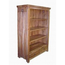 Gower Solid Sheesham Wood Book Shelf
