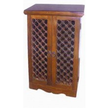 Aura Solid Sheesham Wood Cabinet