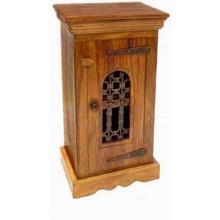 Enkel Solid Sheesham Wood Cabinet Bedside