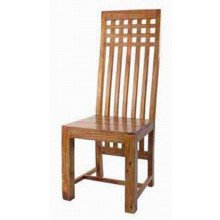 Kiplin Solid Sheesham Wood Armchair