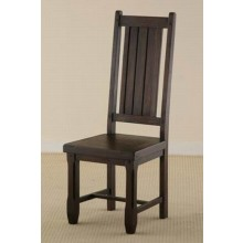 Nancy Solid Sheesham Wood Armchair