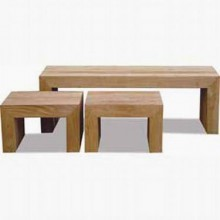 Naoshi Solid Wood Coffee Table