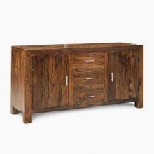 Morse Sheesham Wood Cabinet