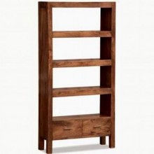 Eva Solid Wood Book Shelf