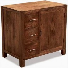 Aura Solid Wood Cabinet