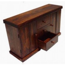 Morse Solid Sheesham Wood Cabinet