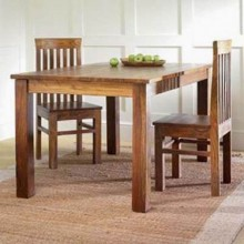 Feller Sheesham Wood Foldable Dining