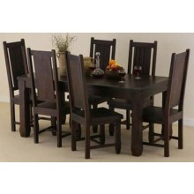 Gorsin solide Sheesham Wood Dining Table