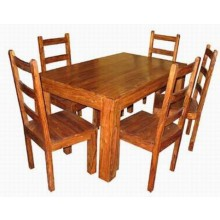 Mcbeth Solide Sheesham Wood Dining Table