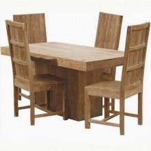 Cambrey 4 Seater Solid Wood Dining Table
