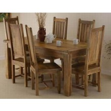 Mcbeth Solide Sheesham Dining Table