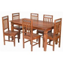Hagborg Sheesham Wood Dining Table