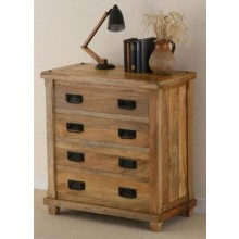 Astra Sheesham Wood Drawer Chest