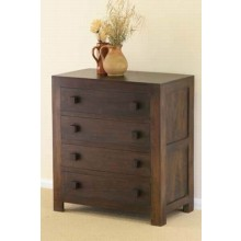 Ashton Sheesham Wood Drawer Chest