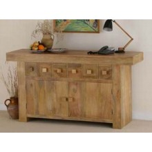 Carleson Solid Sheesham Wood Sideboard