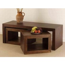 Aubrey Solid Wood Coffee Table