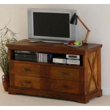 Paladin Solide Sheesham Wood TV Unit