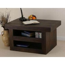 Solari Solid Sheesham Wood Tv Unit