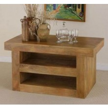 Reverie Solid Sheesham Wood Tv Unit