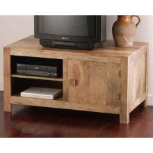 Vincent Solide Sheesham Wood Multi-Functional Tv Unit