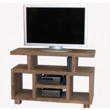Emboss Solid Sheesham Wood Tv Unit