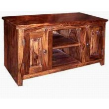 Allan Solid Sheesham Wood Tv Unit