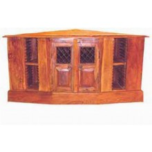 Kristen Solide Sheesham Wood Wall Mount Tv Unit