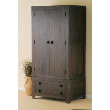 Walton Solid Wood 2 Door Wardrobe in Provincial