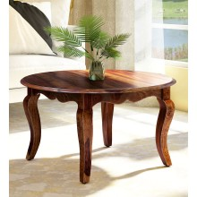 Patricia Solid Wood Coffee Table in Provincial Teak Finish