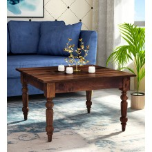 Lanbro Tea Solid Wood Coffee Table in Provincial Teak Finish