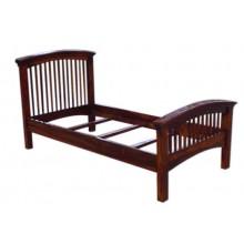 Kendra Sheesham Wood Trundle Bed