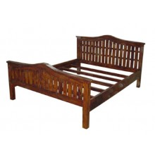 Solid Wood Allan Bed