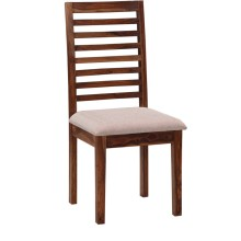 Zenith Solid Sheesham Wood Armchair