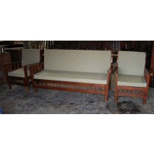 Marriott Wooden Sofa