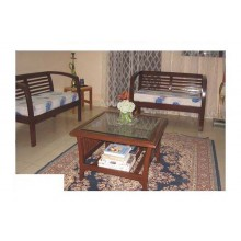 Roman Wooden Sofa