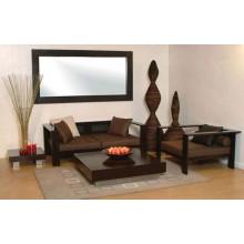 Solace Wooden Sofa Set