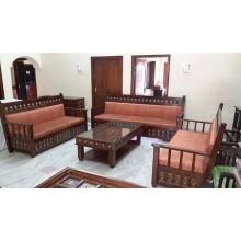 Darwin Wooden Sofa