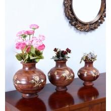 Solid Wood Vase