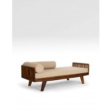 Marriott Wooden Piano Totora Sofa