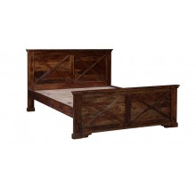 King Sheesham Wood Bed
