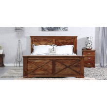 Queen Solide Wood Bed