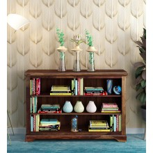 Fanny Solid Book Shelf in Provincial Teak Finish